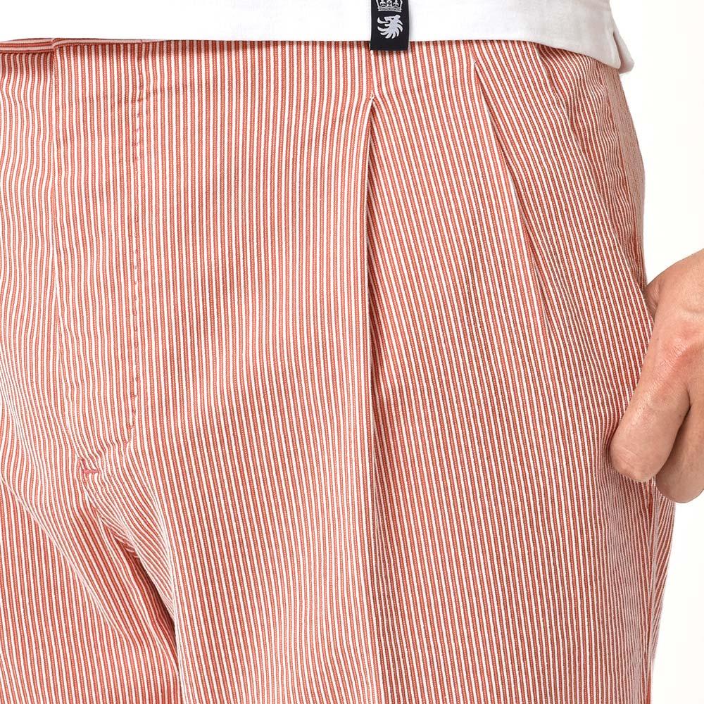 ドローコード付きパンツが必須ですっっ!?<br>PT01 Havelock Island コットン ストレッチ コードレーン 2プリーツ パンツ!!