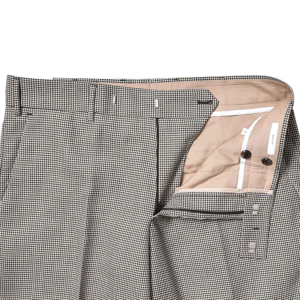 """ポケットにポケットティッシュを入れたまんま洗濯するとエんライことになります。。。(汗)<br>PT TORINO """"REBEL FIT""""ウール ハウンドトゥース ノープリーツパンツ!!"""