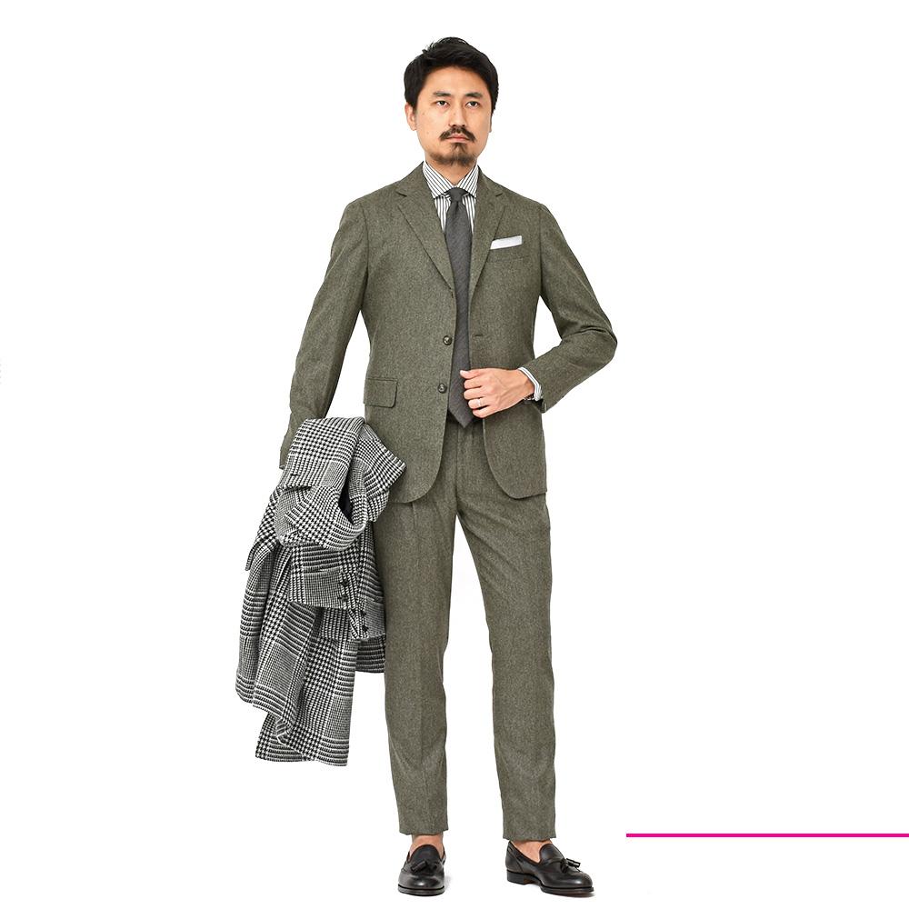 大袈裟じゃないです!!間違いなく今季一番お洒落なスーツです!!<br>Stile Latino(スティレ ラティーノ)