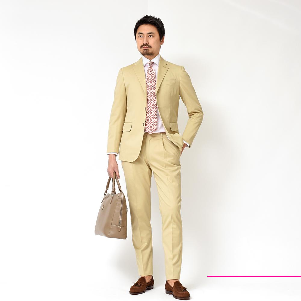 ファッションとパッション感じる!?<br>Stile Latino(スティレ ラティーノ)コットン&シアサッカースーツ!