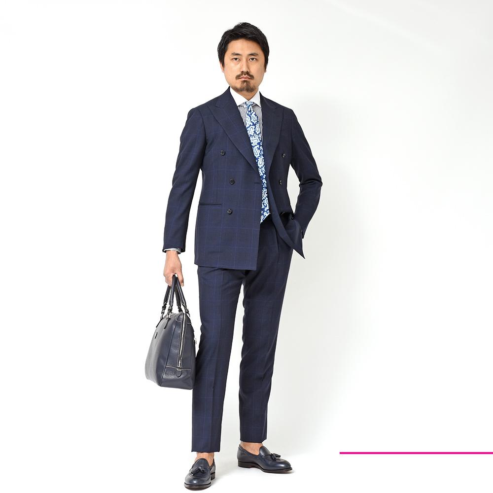 これから着るスーツとしてはこれ以上に無い選択肢です!?<br>RING JACKET(リングジャケット)