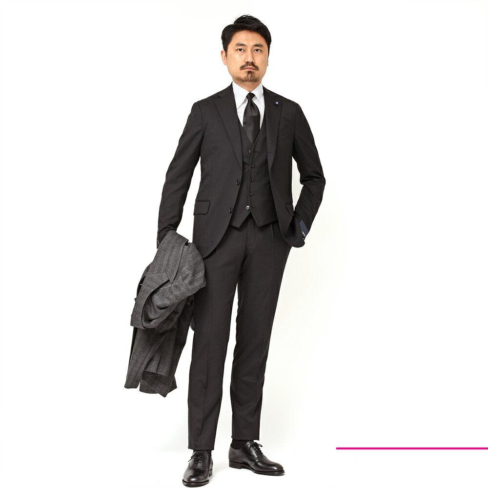 長〜〜〜〜〜〜いお付き合いが出来る汎用性バツグンのスーツ!?<br>LARDINI(ラルディーニ)