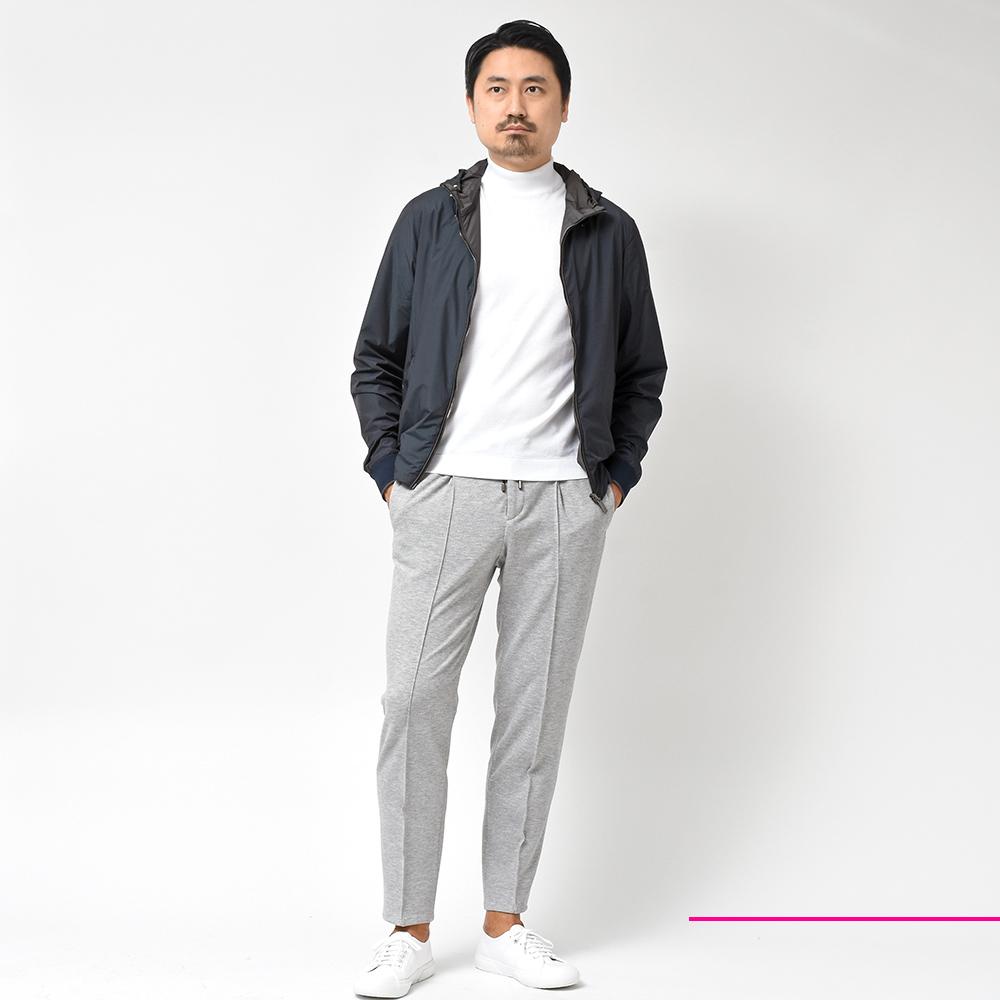 ショート丈のフード付きアウター最強説!?MOORER(ムーレー)
