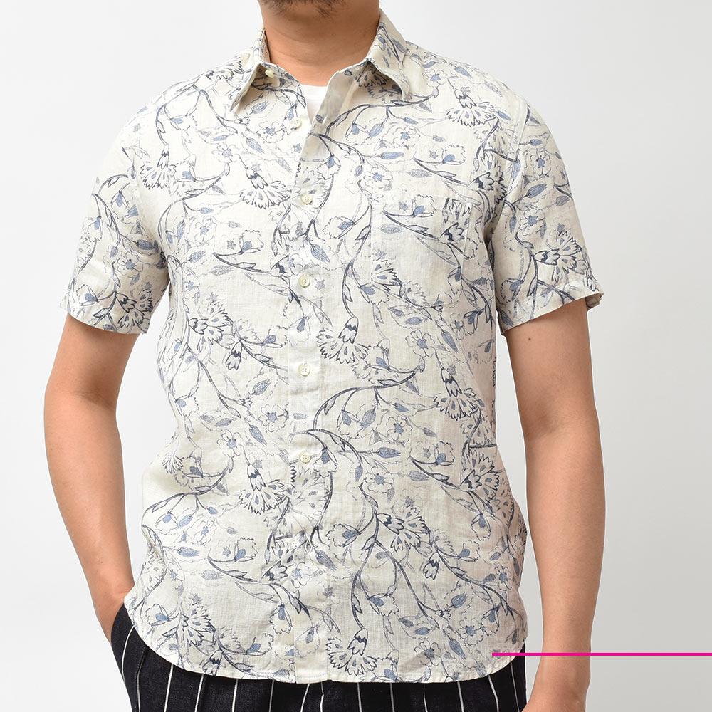 今年は柄攻めです!?<br>120%LINO(120%リノ)の半袖シャツ!!