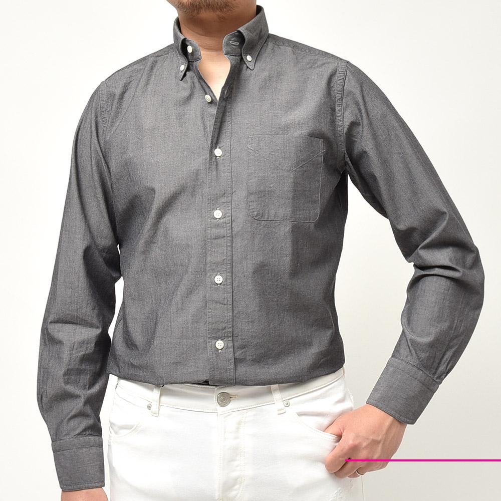 安静のしすぎも要注意ということです。<br>BOLZNELLA(ボルゾネッラ)ボタンダウン シャンブレーシャツ
