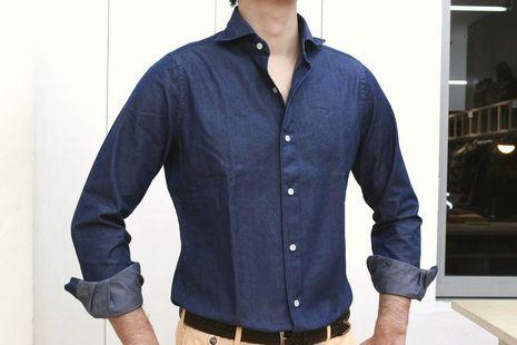 Finamore(フィナモレ)のダンガリーシャツは真のユーティリテー!!<br>&MORE SALEのお知らせ!