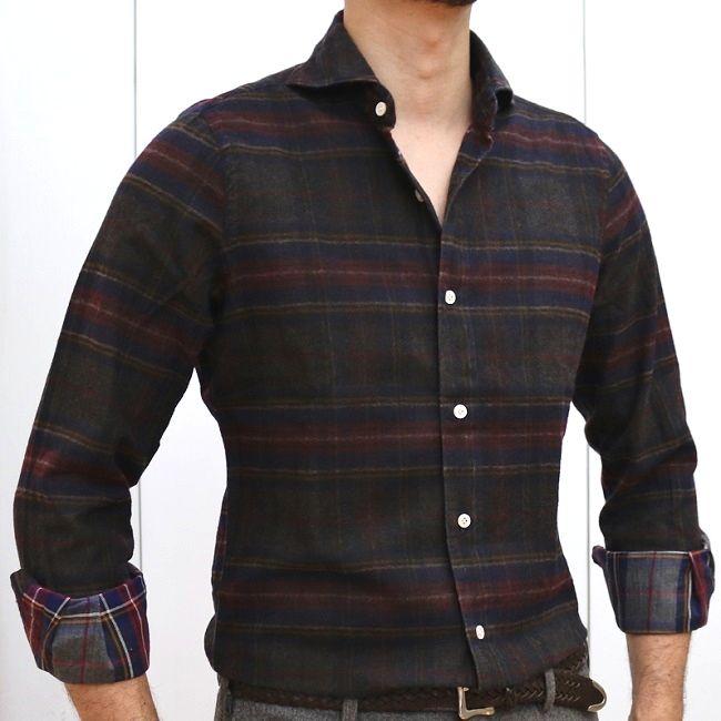 シックでモダンなネルシャツ対決!?<br>Finemore(フィナモレ)& CIT LUXURY(チットラグジュアリー)