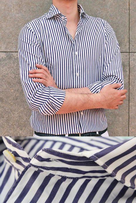 男性の夢と女性の要望をのせたシャツ!?</br>FINAMORE(フィナモレ)ロンスト&チェック