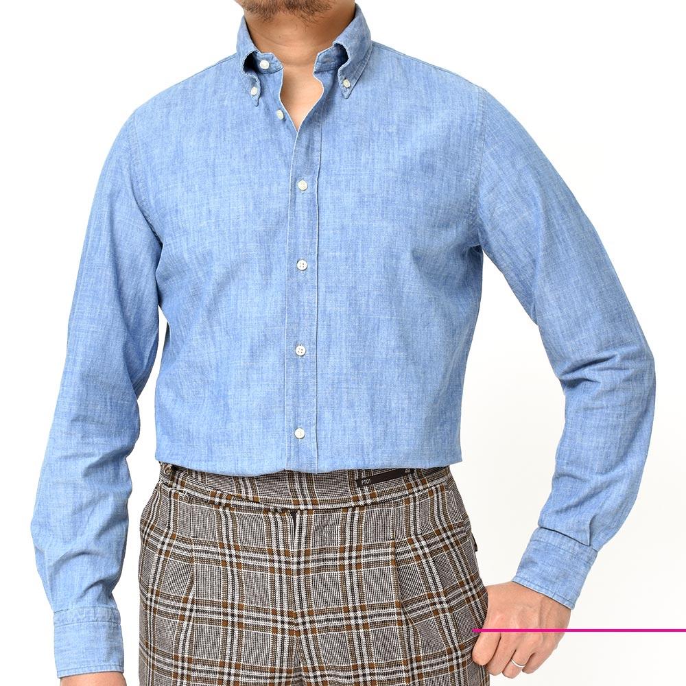 爽やかさと英国感漂うシャツ!!<br>GUY ROVER(ギローバー)