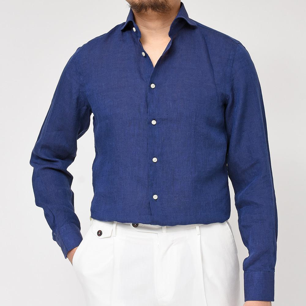 昨日の鹿の子ポロに続き、リネンシャツでも幅を利かせているGUY ROVER(ギローバー)!!?