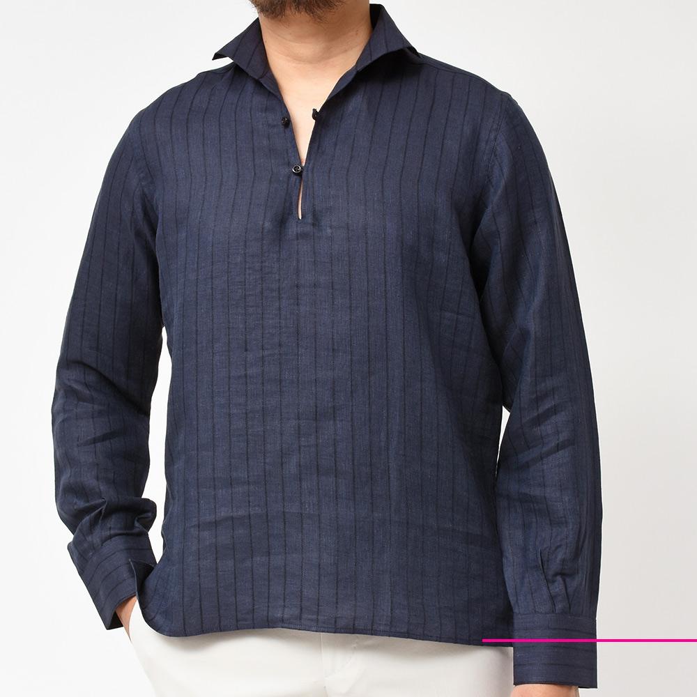 夏に一歩差がつくリネンシャツ!?<br>Massimo d&#8217;Augusto(マッシモダウグスト)