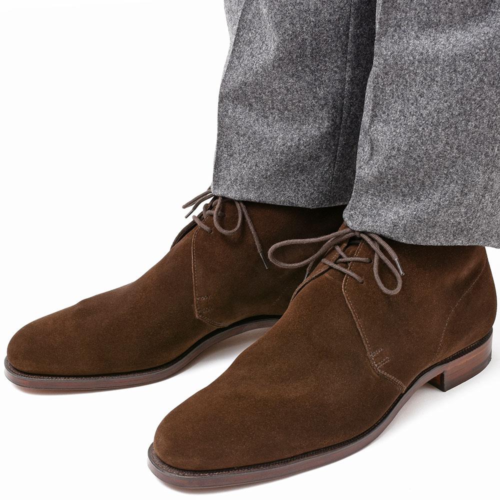 秋冬のreal clothingには必要不可欠なんですっっ!!<br>Crockett  &Jones(クロケットアンドジョーンズ)