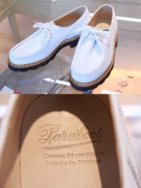 夏に白い靴はど真ん中です!?
